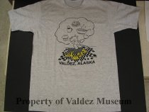 Image of Top View of T-Shirt