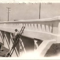 Image of Alvarado Centerville Road at Station 5.20. - Print, Photographic