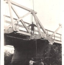 Image of Patterson Slough Bridge Alvarado Cent Road - Print, Photographic