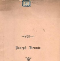 "Image of ""Joseph Dennie"" - N.A."