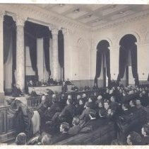 """Image of """"Court in Session"""" - 1893-1899"""