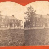 Image of 12-Old Lutheran Parsonage, New Hanover. - 1900