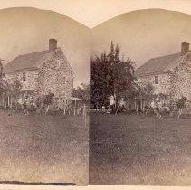 Image of 15-Old Reformed Parsonage, Falkner Swamp-Birth Place of Ex-Gov. Hartranft. - 1900