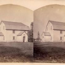 Image of 18-Old Trappe Church, (Lutheran) - 1900