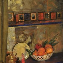 "Image of Carlyle, Florence, ""My Studio Corner (Still Life, Bowl of Fruit)"""