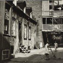 """Image of Harvey, L.C, """"Rue Sous le Cap, Quebec"""""""