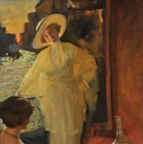 """Image of Carlyle, Florence, """"Two Women on a Balcony, Venice (Les Amies, Venice)"""""""