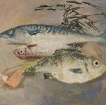 "Image of Kemp, James, ""Three Fish and Onion"""