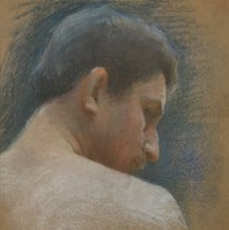 """Image of Carlyle, Florence, """"Brittany Man (Back Pose)"""""""