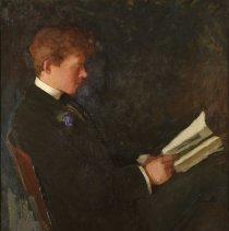 """Image of Carlyle, Florence, """"Portrait of Russell (artist's brother)"""""""