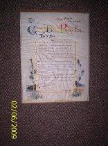 Image of George Bellis Reid Certificate