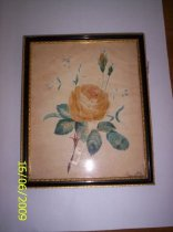 Image of Marcroft watercolour yellow rose