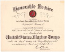 Image of 1981.074.015 - Certificate