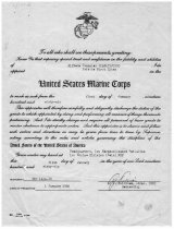 Image of 1981.074.016 - Certificate of Promotion