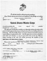 Image of 1981.074.019 - Certificate of Promotion