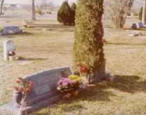 Image of 1981.074.031 - Tombstone