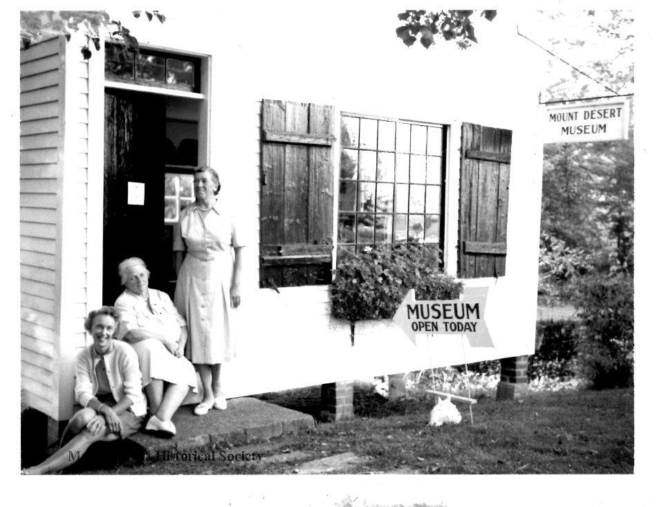 Mrs. James, Mrs Barry Smith, Mrs Marjory Hayward