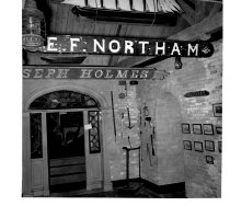 Image of E.F. Northam, ...seph Holmes sign Isleford Museum by LaRue Spiker