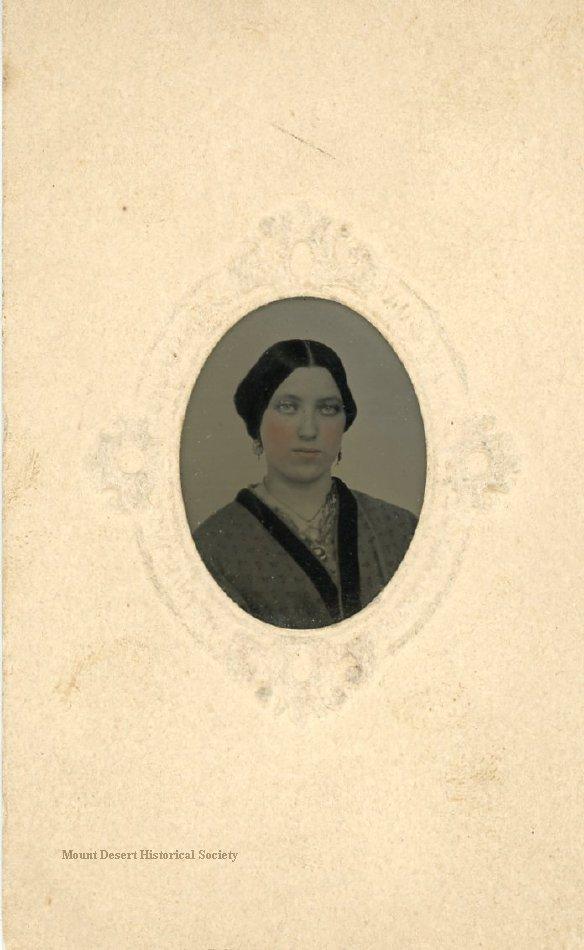 Caroline F. Moore, tintype