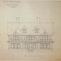 Image of 001.74.32 - Drawing, Architectural