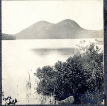 Image of Bubbles Mountains and Jordan Pond