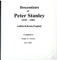 Image of Descendants of Peter Stanley 1539-15-83, Ashford, Dent, England - Stanley, Ralph W.