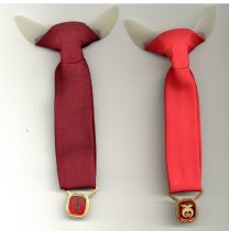 Image of Two Clip-on Ties