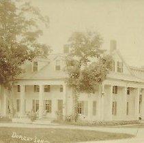 Image of Postcard - Black & White postcard of the Dorset Inn by Charles Parker, Dorset, VT