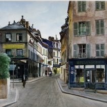 """Image of Ogden M. Pleissner """"Montmarte"""""""