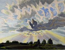 Image of Watercolor - Daybreak