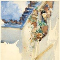 Image of watercolor - Spanish Window