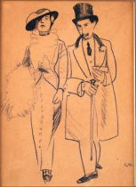 Image of drawing - The Duke And The Duchess