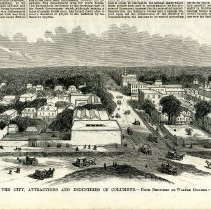 Image of Woodcut - The City, Attractions and Industries of Columbus, Ga.