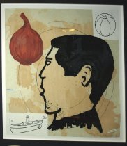 Image of Donald Baechler, Onion Eater