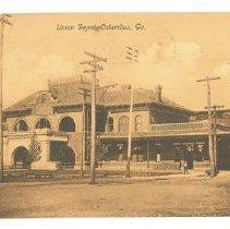 Image of Postcard - Union Depot, Columbus, Ga.