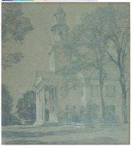 Image of Willard Metcalf, Sketch for Benediction, 1920