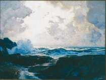 Image of Painting - The Silver Sea