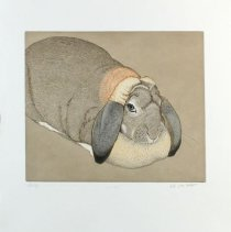 Image of Etching - Sally
