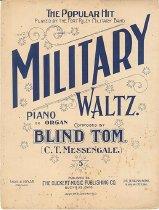 Image of Music, sheet - Military Waltz