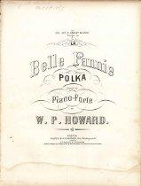 Image of Music, sheet - La Belle Fannie Polka