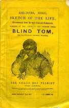 Image of Brochure - The Marvelous Musical Prodigy, Blind Tom