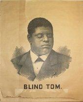 """Image of Poster - """"Blind Tom"""" Wiggins"""