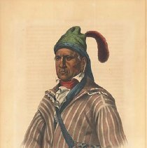 Image of McKenney and Hall, Me-Na-Wa, A Creek Warrior, 1837