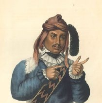 Image of McKenney and Hall, Jtcho-Tustinnuggee, 1843