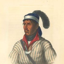 Image of McKenney and Hall, Apauly-Tustennuggee, 1843