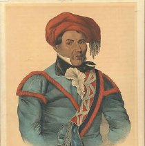 Image of McKenney and Hall, Tustenuggee Emathla (Jim Boy), 1836