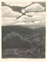Image of Helen Greene Blumenschein, Moonlight, 1939