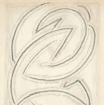 Image of Abraham Walkowitz, Abstract Figure Study, ca. 1915