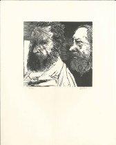 Image of Leonard Baskin, Millet and Rousseau, 1969