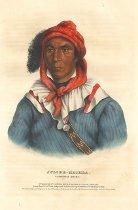 Image of lithograph - Julcee-Mathla, A Seminole Chief
